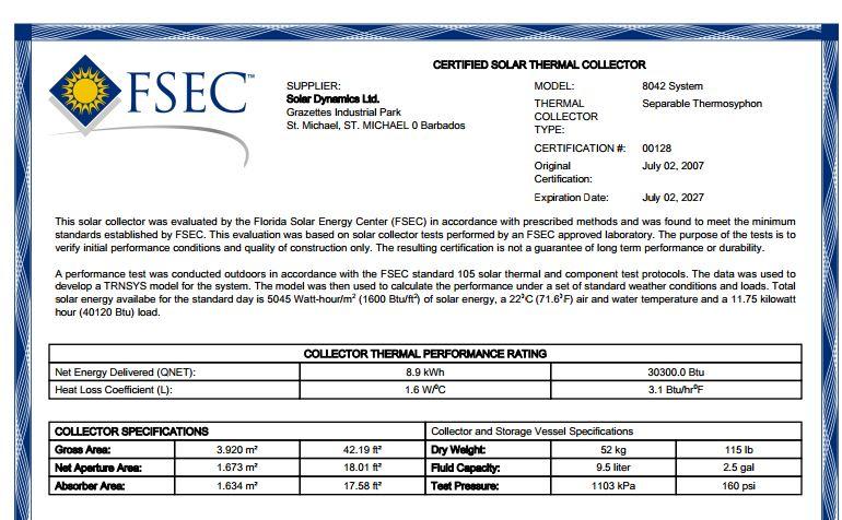 FSEC2007SDL